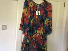 Gottex Ladies Top In multi Colours Size Large New