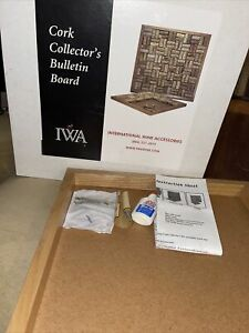 "International Wine Accessories  16"" Wine Cork Bulletin Board Kit: Open Box"