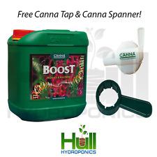 Canna Boost Accelerator 5L Bloom Stimulator, Flower Enhancer. FREE SPANNER & TAP
