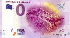 25 BESANCON Citadelle, 2017, Billet 0 € Souvenir