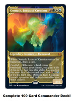 MTG Commander EDH Deck Omnath, Locus of Creation 100 Cards Custom Deck Landfall
