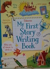 Usborne My First Story Writing Book, HB spiral-bound for lay flat use