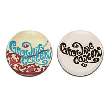 2x The Growing Concern Psych Rock Band 60's  25mm / 1 Inch D Pin Button Badges