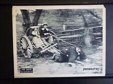 1923 TOO MUCH DUTCH - JOE ROCK SILENT LOBBY CARD - FATTY ARBUCKLE IMITATOR