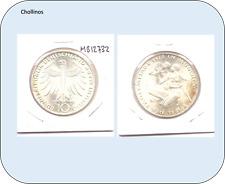 10 MARCOS DE PLATA  AÑO 1972 G  ALEMANIA  ( MB12732 )