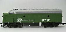 1 Bachmann Ho Burlington Northern F9 Locomotive Lighted MINT CONDITION Green EMD