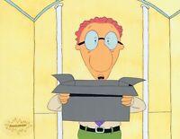 DOUG FUNNIE Original Production Cel Cell Animation 1990's Nickelodeon Mr. Bone