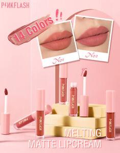 PINKFLASH Melting Matte Lipcream Lipstick Lip Gloss