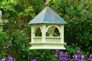 Bempton Bird Table | Hanging Garden Feeding Station Wild Small Birds Tree House