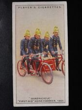 No.28 QUADRICYCLE 1ST AID & HOSE Fire Fighting Appliances - John Player 1930