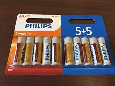 Philips longue vie AA R6L Batterie-Pack de 10