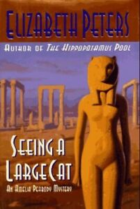Seeing a Large Cat by Peters, Elizabeth Hardback Book The Cheap Fast Free Post