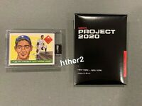 Topps Project 2020 Card #89 Sandy Koufax Dodgers 1955 by Naturel  FAST SHIPPING