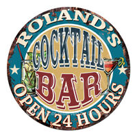 CPBT-0219 BRAD/'S BAR N TAVERN COLD BEER HERE Tin Sign Father/'s Day Gift For Man