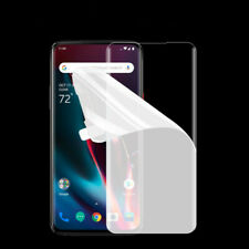 3 Pack For One plus 7 Pro 3D Clear Hydrogel Screen Protector Soft clear Film