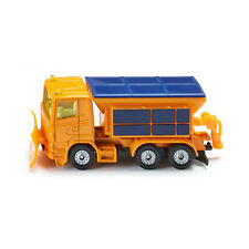 Siku 1309 Scania Winter road maintenance orange Car (Blister pack) new! °