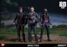"The Walking Dead: oficial Deluxe 3 Héroe Pack 5"" figuras por McFarlane Toys"