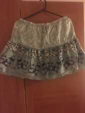 Women's Replay skirt, flower design, size S/M, no signs of wear