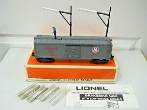 Lionel 6-19811 Monon Operating Brakeman Car LN in OB w/All Accessories