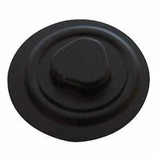 200 CD VACUUM HUB W/ ADHESIVE BACKING -BL500BLK BLACK