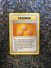 Revive Trainer Card 1st Edition Shadowless 89/102-NM
