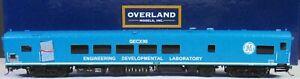 OVRLAND MODELS  ***GE Test Car #90*** OMI-AF-0090-1 HO Brass DCC Ready AJIN 2010
