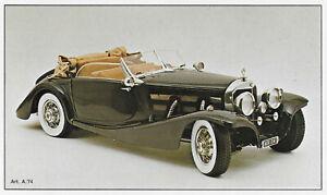 Automodellbausatz 1/8 POCHER Mercedes-Benz 500 K/AK Cabriolet 1935