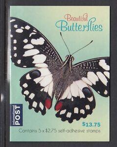 Australia 2016 Butterflies Booklet of Stamps (International - $13.75) Phil B703