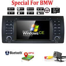 """US Camera+ For BMW X5 E53 7"""" Car DVD Stereo Radio GPS Nav Player Bluetooth RDS"""