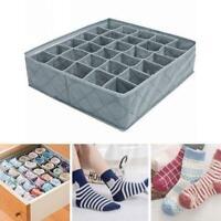 30 Grids Unterwäsche Container Divider Closet Bh Socken U4F7 Aufbewahr Kraw I3R8