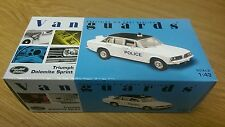 Corgi VA05306 Nottinghamshire Constabulary Triumph Dolomite Sp Ltd Ed. No.5/4000