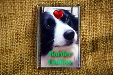 Border Collie Gift Fridge Magnet 77x51mm Free UK Post Birthday Gift