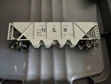 Lionel N&W Hopper 546446 Gray Model Train