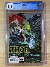 Thor #11 (2021 Marvel Comics) Daniel Warren Johnson Alien Variant CGC 9.8