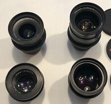 Zeiss ZF.2 Lens Set (25,35,50,85) DUCLOS MODIFIED