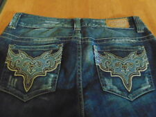 Guess Jeans 30 Los Angeles Distressed Daredevil Boot Cut