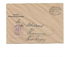 BP / HANNOVER - WESERMÜNDE Z339 auf Reichsbahn-Brief 1934 aus Seelze