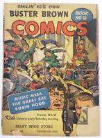 1946 BUSTER BROWN COMICS #9