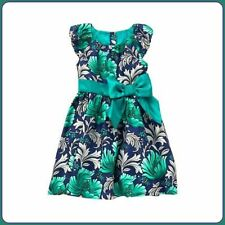 NWT $59.95! Gymboree Girls Floral Special Party Dress Emerald Floral - Size 8