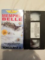 RARE VHS:  PRIDE OF AMERICA MEMPHIS BELLE  IN COLOR FREE SHIPPING