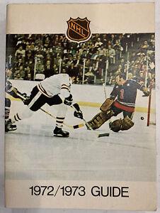 National Hockey League NHL 1972-73 Media Guide Phil Esposito , (B199)