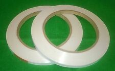 16 rolls of double sided high tack craft tape 9mm x 33mtrs