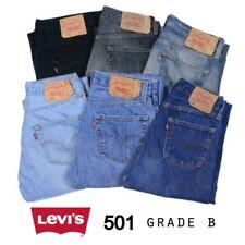 Levi's 501 Hosengröße W32 Herren-Jeans aus Denim