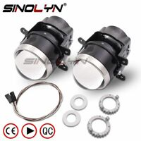 3.0'' HID Bi-xenon Projector Fog Lights Lens Driving Lamps Retrofit Waterproof