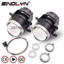 3.0'' HID Bi-xenon Projector Fog Lights Lens Driving Lamps Retrofit Waterproof