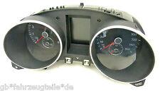 VW GOLF 6 VI 5K TDI INSTRUMENT CLUSTER SPEEDOMETER MEILEN 5K0920971B Int.17265