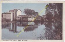 CPA 01290 PONT DE VEYLE Moulin de Chatan Edit COMBIER
