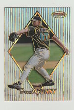 1999 BOWMAN'S BEST BRAD PENNY ATOMIC REFRACTOR 66/100 CARD #114