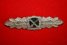 WW2 1957 GERMAN ARMY CLOSE COMBAT CLASP BREAST BADGE GOLD NOT NAZI