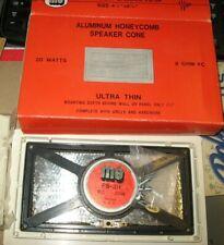 NOS MG ELECTRONICS FS-3H FLUSH MOUNT RECTANGULAR ALUMINUM HONEYCOMB SPEAKER CONE